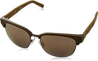 BOSS - Orange BO 0234/S HJ LE9 Gafas de sol, Verde (Mtmilitgreen/Gun Metal Fl), 54 para Hombre