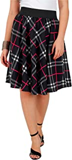Grace Diva Black-Fuschia Check Print