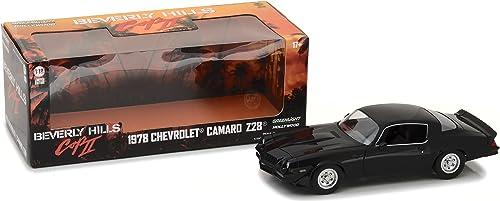 vertlumière Collectibles- Chevrolet Camaro-Le Flic de Beverly Hills 2-Echelle 1 18, 13501, Noir