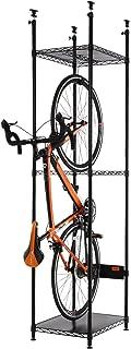 DOPPELGANGER バイシクルハンガー 省スペース・簡単設置・効率収納 転倒防止8点接地 【耐荷重30kg】 自転車スタンド DDS304