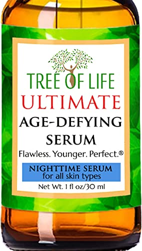 Nighttime Serum - 20% Vitamin C, Clinical Strength Retinol, Niacinamide, Hyaluronic Acid, Msm And Salicylic Acid - The Ultimate Anti Aging, Serum For Face - 1 Ounce product image