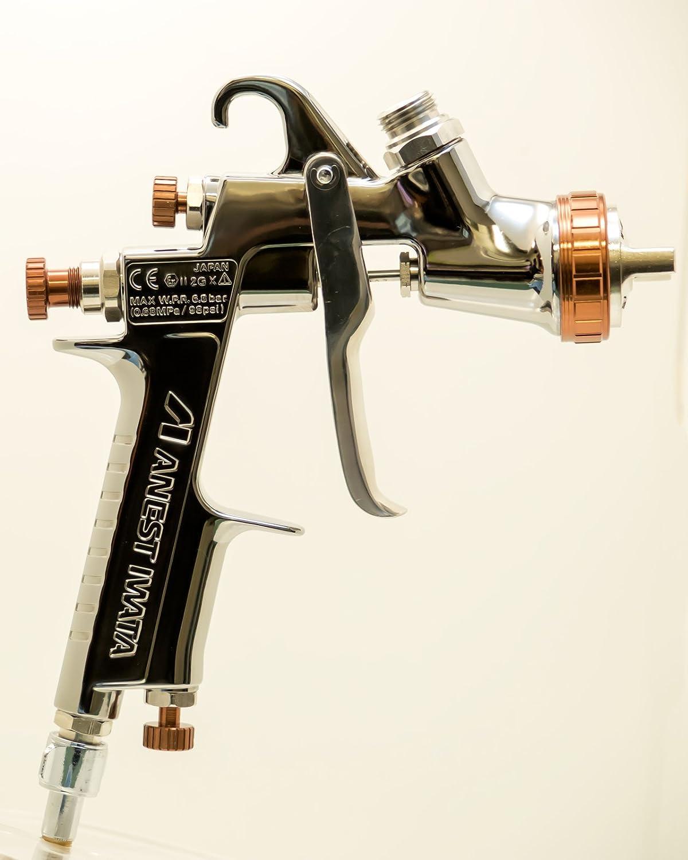ANEST IWATA W-400-144G(1.4mm Nozzle) Bellaria Spray Gun Without Cup :  Amazon.in: Car & Motorbike