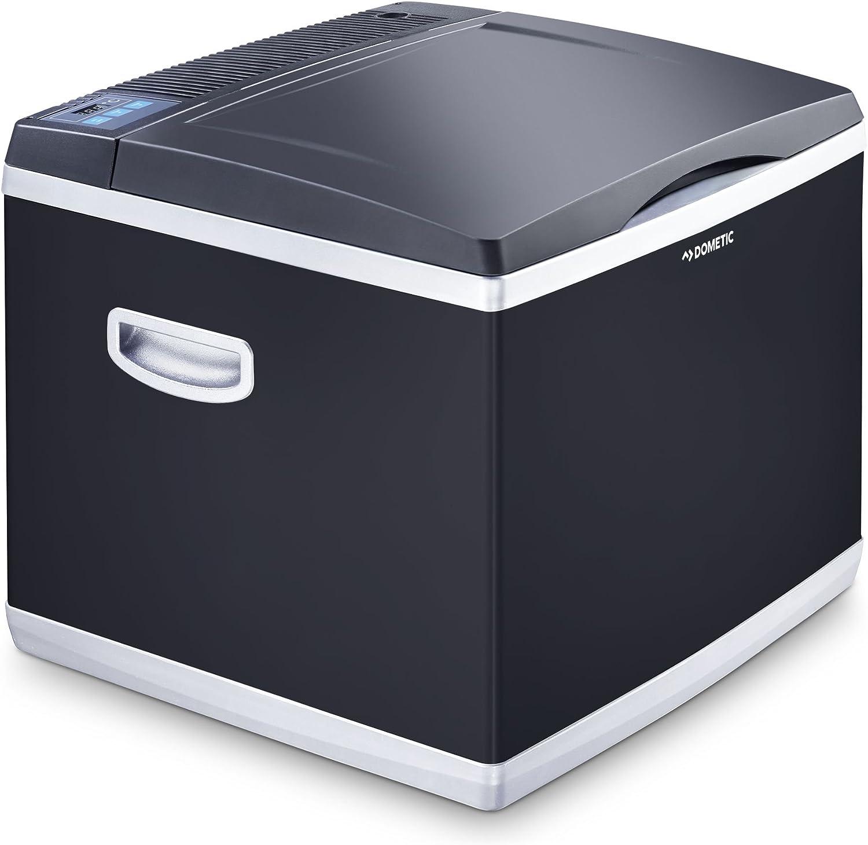 DOMETIC CoolFun CK 40D Hybrid - Nevera y congelador híbrido portátil 39 l, mini nevera para coche, camión, barco y autocaravana, 12/230 V