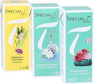 Special.T – Milde Blumen Mix – Kräuter- und Grüntee 3 Sorten à 10 Kapseln