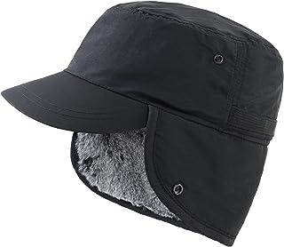 کلاه زمستانی مردانه Connectyle با کلاه گوشواره گرم و کلاه دار کلاه بیس بال خز مصنوعی