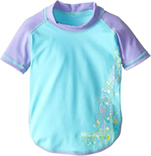 Camaro Girl's UV Protection Short Sleeve Toddler Shirt