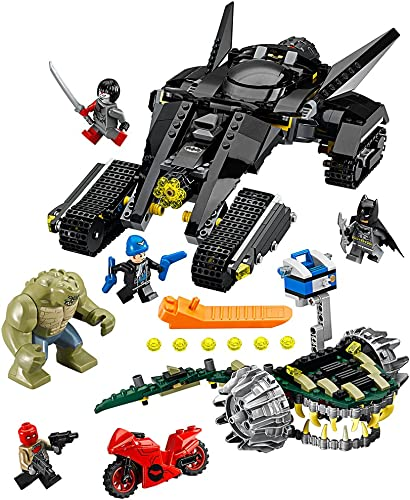 LEGO Super Heroes 76055 Batman  Killer Croc Sewer Smash Building Kit (759 Piece) by LEGO