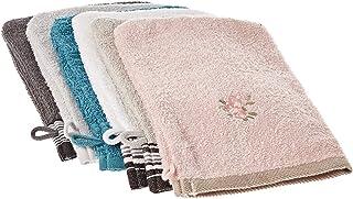 Turkish Cotton Washcloths Set - 6 Pieces, Multi Color