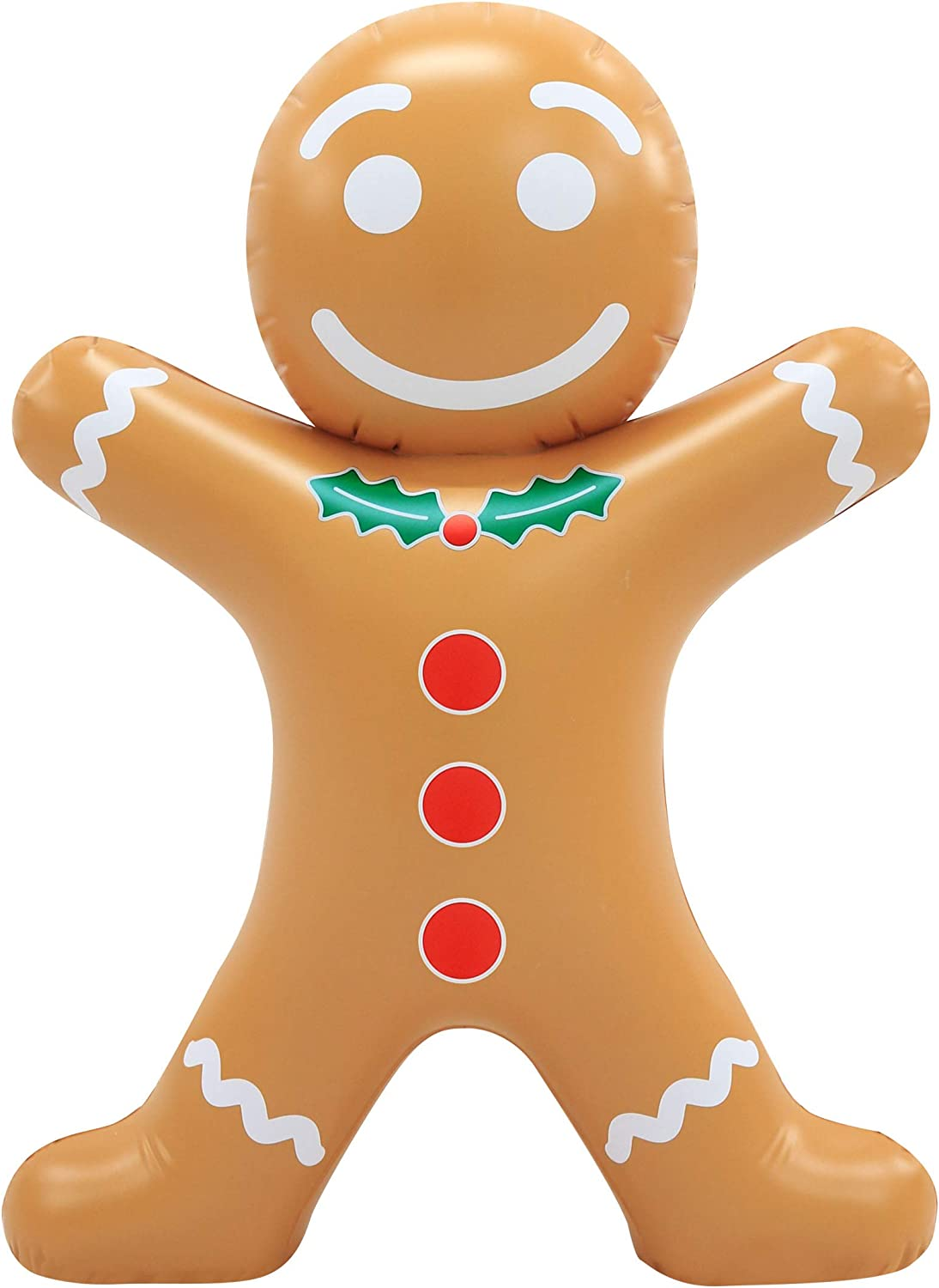 Occasions Blow-Up Inflatable Gingerbread Man