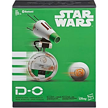 Amazon Com Star Wars Episode 9 The Rise Of Skywalker D O Bluetooth Interactive Droid Toys Games