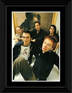 Stick It On Your Wall Radiohead - Painting Framed Mini Poster - 14.7x10.2cm