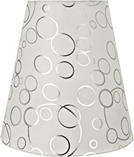 Aspen Creative 32891 Transitional Hardback Empire Shaped Spider Construction Lamp Shade in White, 12