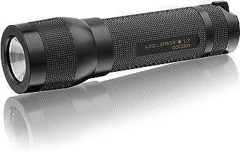 Ledlenser 7008 L7 Light-Weight Heavy Duty LED Torch, Black, 226mm x 38mm x 72mm