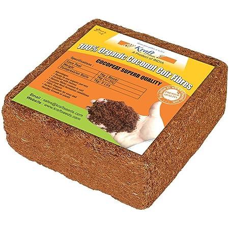 Kraft Seeds Agro Peat/Coco Peat (1 KG)