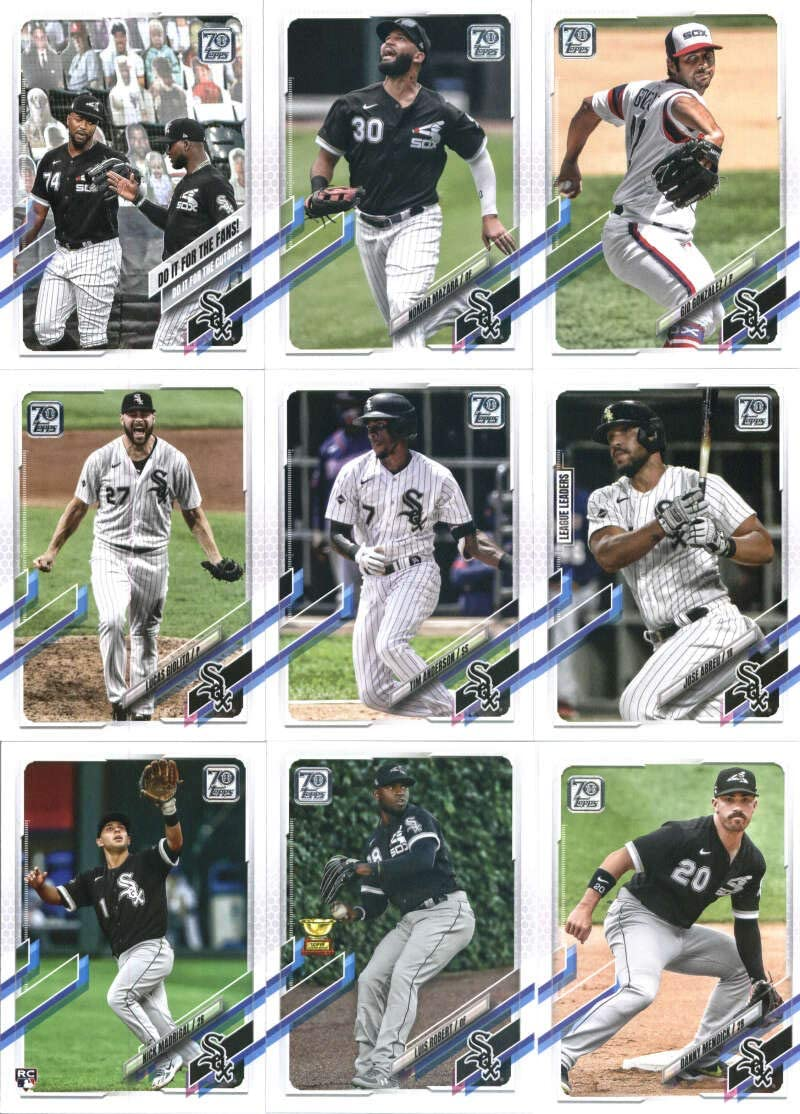 2021 Topps Series security 1 Chicago White Sox I Super sale period limited Cards: of Team Do Set 14