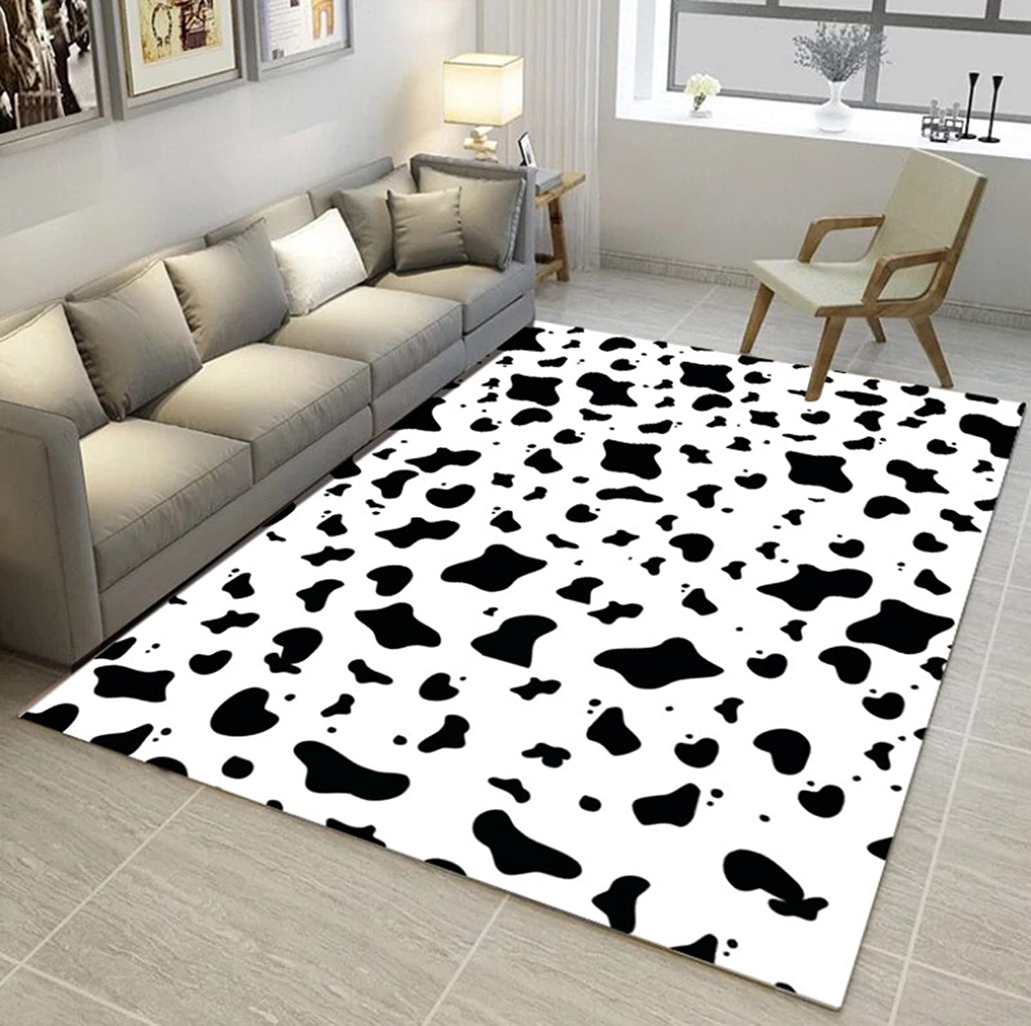 European Area Rug Modern Contemporary Soft Rug Living Dining Room Rug Rectangle Carpet Anti-skidding Rug ( PATTERN   Pattern6 , Size   120160cm )