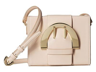ZAC Zac Posen Biba Buckle Large Crossbody (Oat) Handbags
