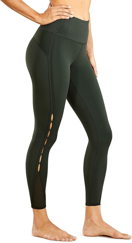 25 Inches CRZ YOGA Naked Feeling High Waist Yoga Pants 7//8 Workout Leggings for Women