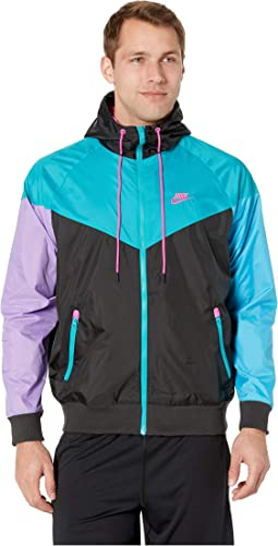 newest 11e8c a606a Black Spirit Teal Active Fuchsia. 33. Nike. NSW Windrunner Hoodie Jacket