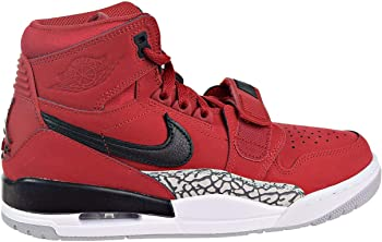 Jordan Legacy 312 Men's Varsity Red/Black/White Leather Basketball Shoes