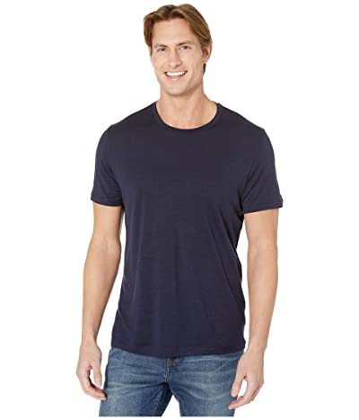 Icebreaker Tech Lite Short Sleeve Crewe (Midnight Navy 1) Men