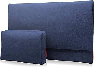 エレコム パソコンケース インナーバッグ 13.3インチ用 MacBook Air, Pro 13inch (2020/2019年モデル対応) 【2020年11月発売 M1チップモデル対応】 ポーチ付 ネイビー BM-F02XNV