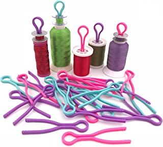 20pcs Bobbin Buddies/Bobbin Thread Clip/Bobbin Winder - Sewing Machine Accessories for Thread Spool Organizing