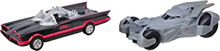 DC Legacy Series 2016 Batmobile & 1966 Batmobile Batman Car Set Lights & Sounds