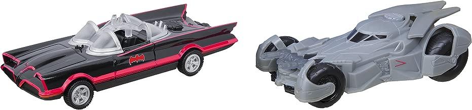 Toystate DC Legacy Series 2016 Batmobile & 1966 Batmobile Batman Car Set Lights & Sounds