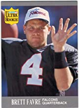 1991 Ultra with Update Atlanta Falcons Team Set with 2 Brett Favre Rookie Cards - 17 NFL Cards