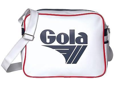 Gola Redford (White/Navy/Red) Messenger Bags