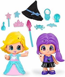 Pinypon - Princesa Y Bruja, Incluye 2 Figuras y Accesorios,