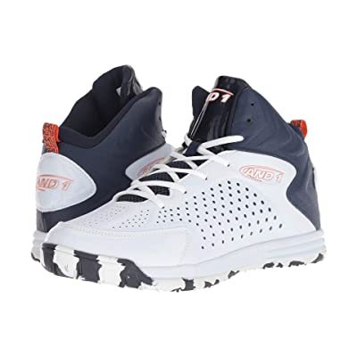 AND1 Tipoff (White/Peacoat/Flame) Men