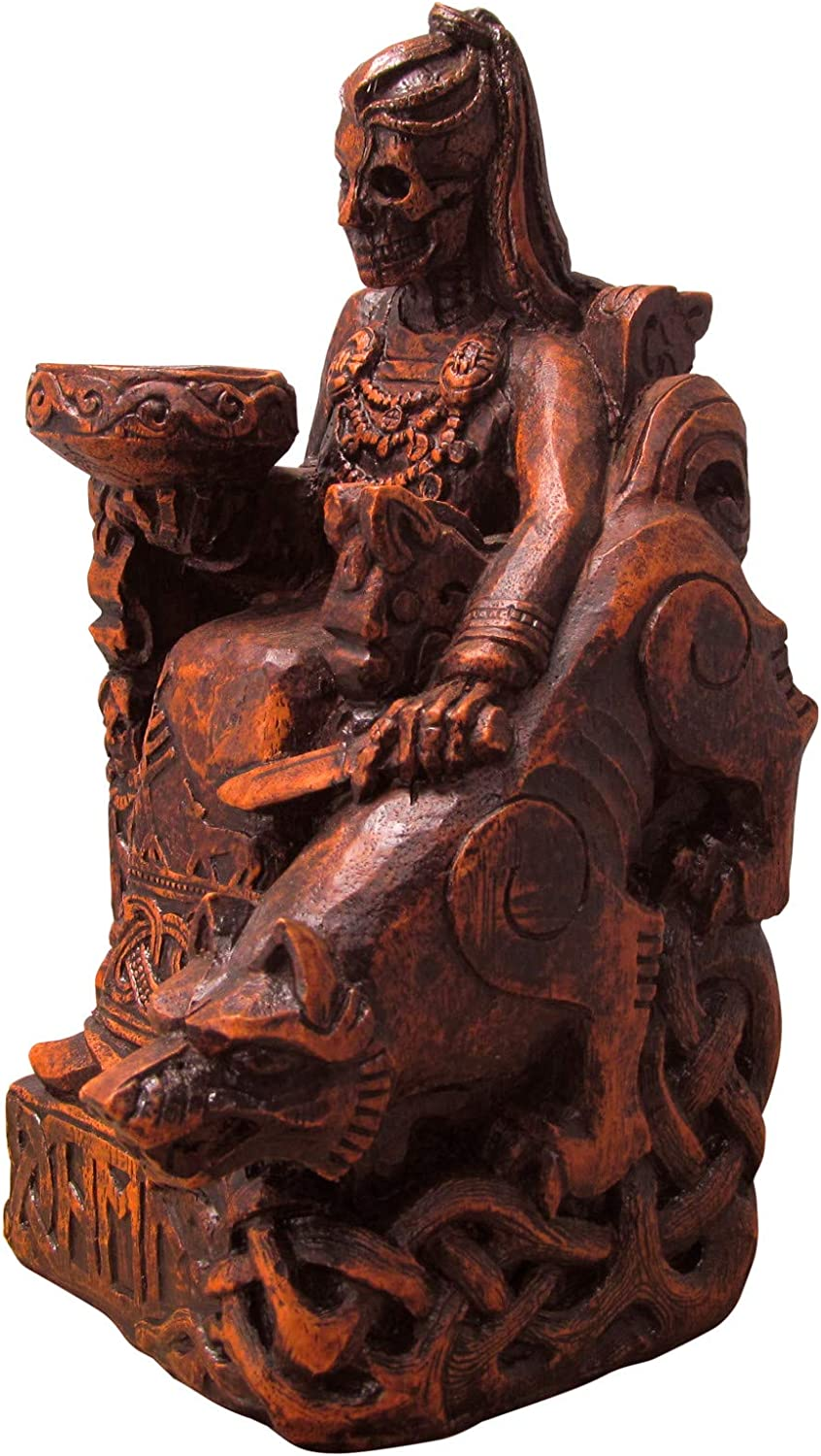 Seated Norse Hel Statue New product! New type Max 52% OFF - Goddess Underworld The of