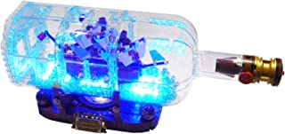 Brick Loot Deluxe Lighting Kit for Your Lego Set Ship in a Bottle 21313 Lego Set NOT Included