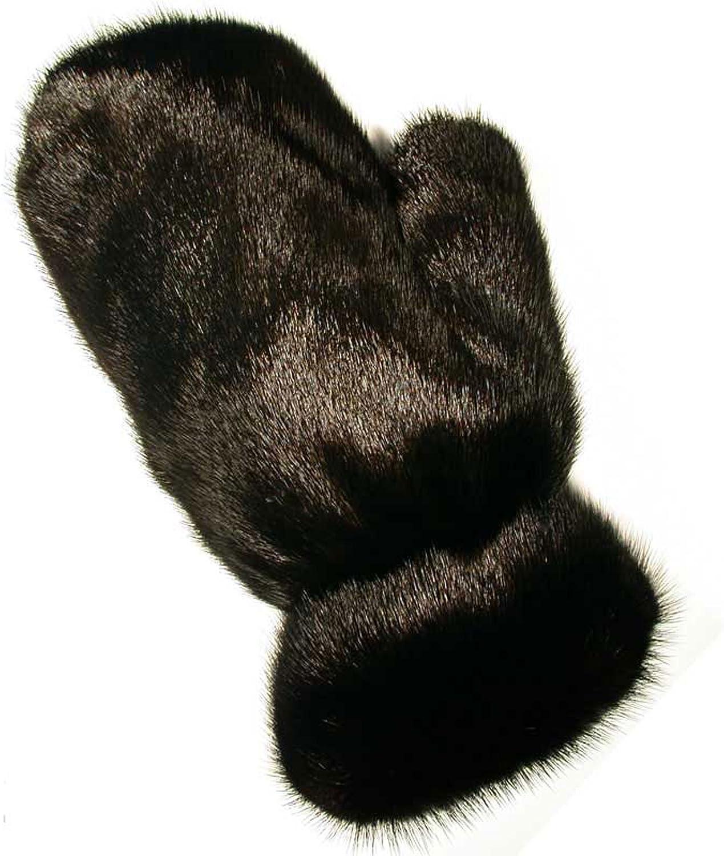 MinkgLove Mink Massage Glove, Silky and Textured Feel, Unisex, Hand Tailored Fur