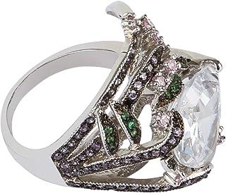 For Women , Cubic Zirconia Fashion Ring , Alloy - 10