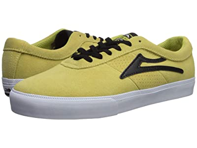 Lakai Sheffield (Dusty Yellow/Black Suede) Men