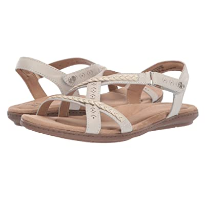 Earth Origins Belle Bentley (Sand White/White) Women