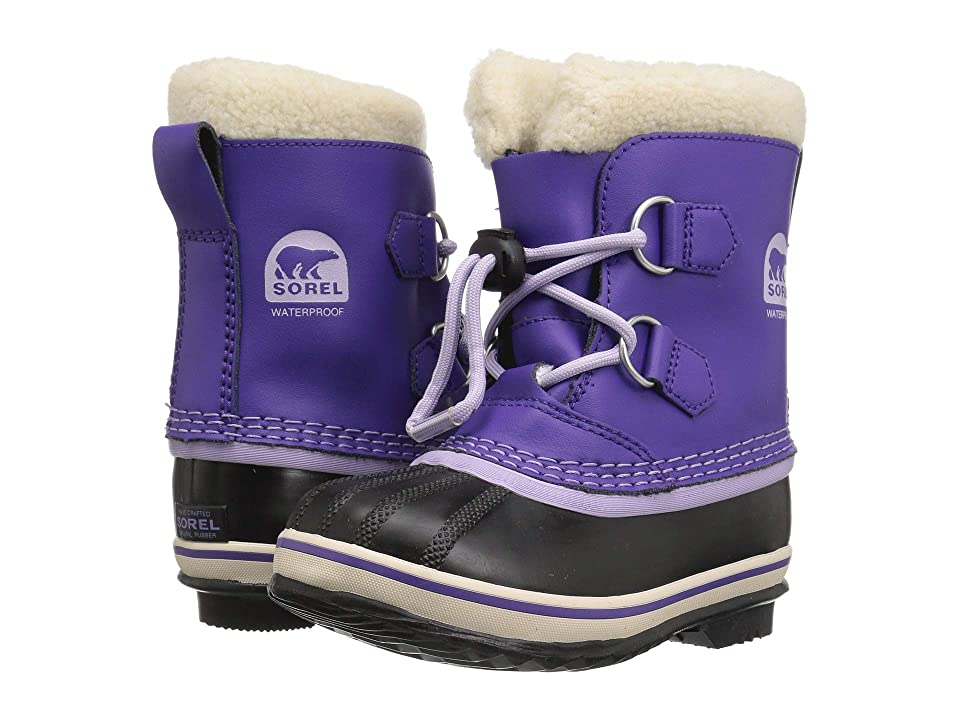 SOREL Kids Yoot Pac TP (Toddler/Little Kid) (Emperor/Morning Mist) Girls Shoes