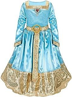 Disney Store Brave Princess Merida Formal Costume Dress Size XS 4