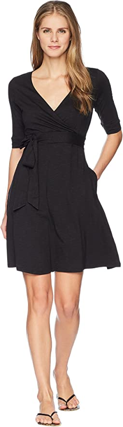 Toad&Co Cue Wrap Cafe Dress