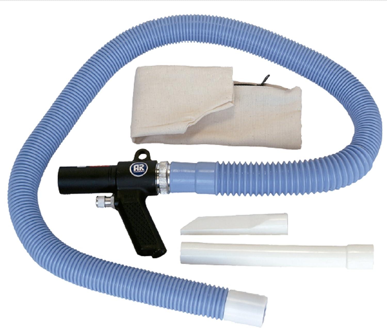 Kit Aspirador Soplador Neumático Aire Comprimido + Accesorios