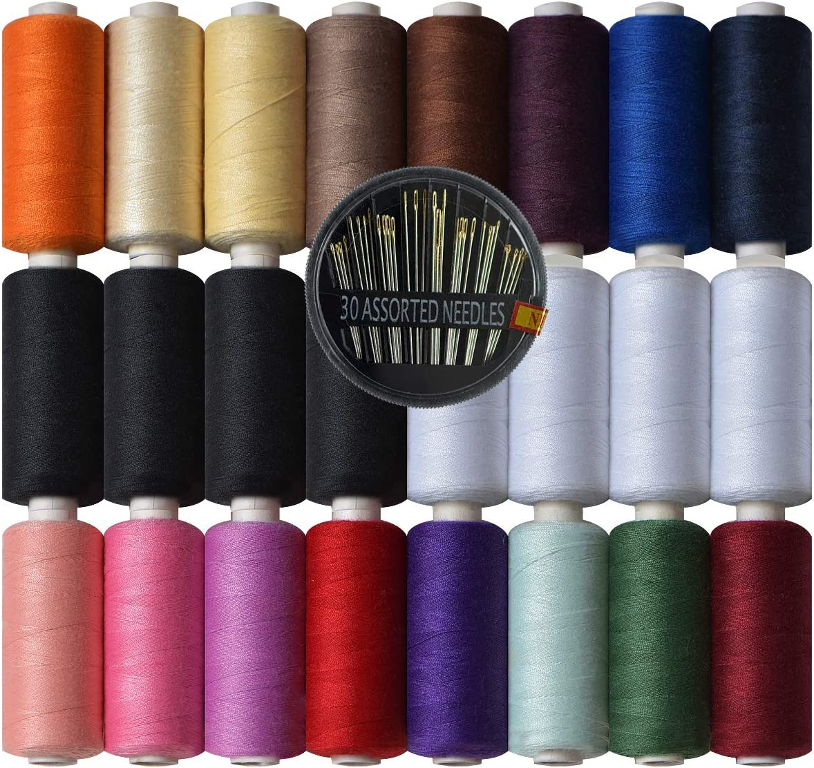 sold out Polyester Sewing Thread-24 Spools A Purpose Thread All SEAL limited product