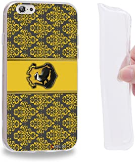 Case88 TPU Designs Harry Potter & Hogwarts Collections Hogwarts Hufflepuff Sigil Gel TPU Phone case Cover for Apple iPhone...