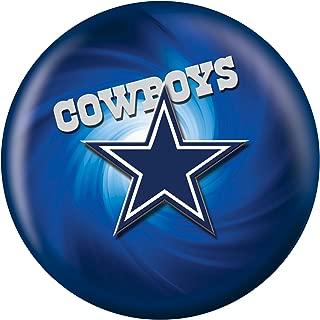 KR Strikeforce 2013 NFL Dallas Cowboys Bowling Ball, Navy Blue/Silver/White, 8 lb
