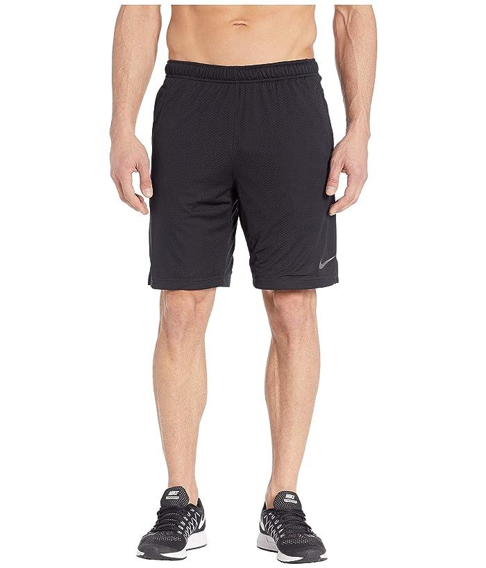 Nike Monster Mesh Shorts 4.0 (Black/Black/Dark Grey) Men