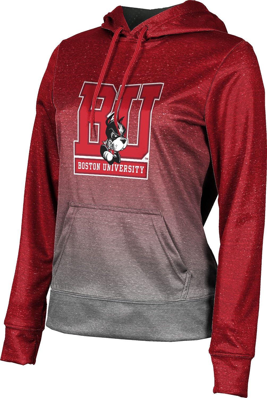 ProSphere Boston University Girls' Pullover Hoodie, School Spirit Sweatshirt (Ombre)