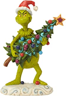 Enesco Dr. Seuss The Grinch by Jim Shore Stealing Tree Figurine, 8.66