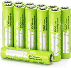 12 x AAA Rechargeable 800mAh 100%PeakPower NiMH Batteries NEWLY released rechargeable batteries with extensive range of sizes, committed to keeping your device on 100% of the time…